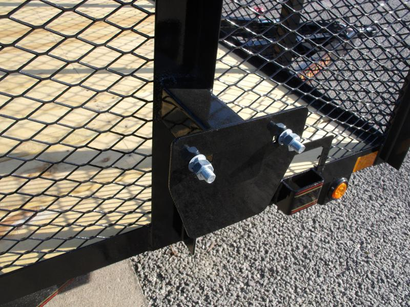 Utility Trailer Hi Wall 77 X 10 Tube Gate 2990 Axle