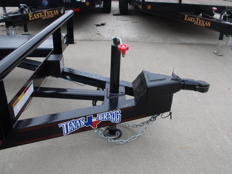 """Car Hauler 83"""" X 18 Open Center 7000 GVW Removable Fenders Brakes"""