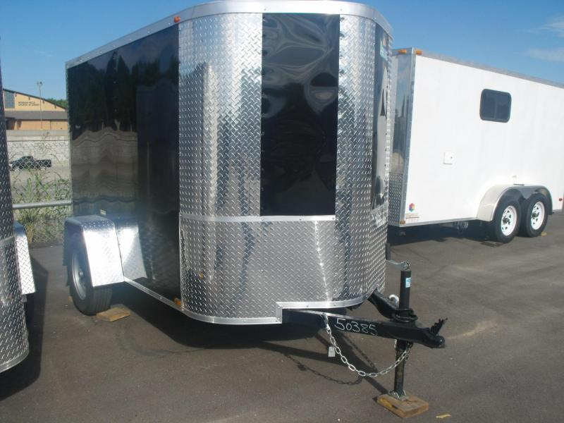 "Trailer Enclosed  5 X 8 Ramp 5' 6"" Height  Cargo Trailer"