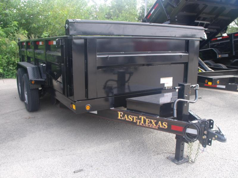 Dump Trailer Bumper Pull 83 X 14 14000 GVW