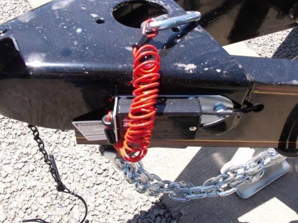 Utility Trailer ATV Trailer 83 X 14 Dove 4 WL Brakes 7000 GVW