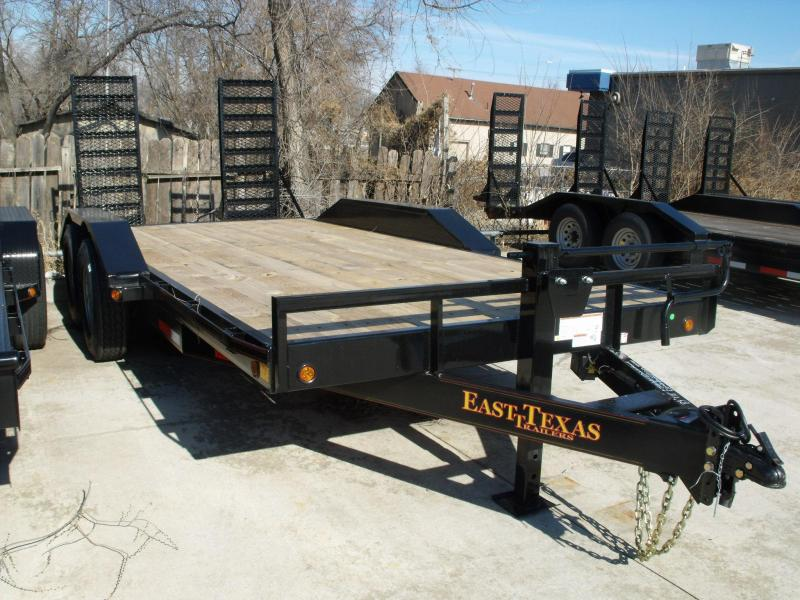 Equipment Trailer 83 X 18 14K Combo Ramps Drive Over Fenders in Ashburn, VA