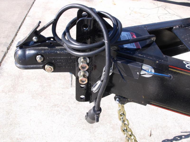 Equipment Trailer 83 X 18 14K Combo Ramps Drive Over Fenders