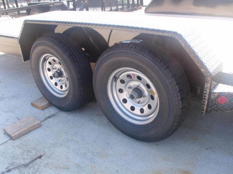 Car  Hauler   83 X 18 Metal Dove 7000 GVW  Hauler Car 4 Wheel Brakes