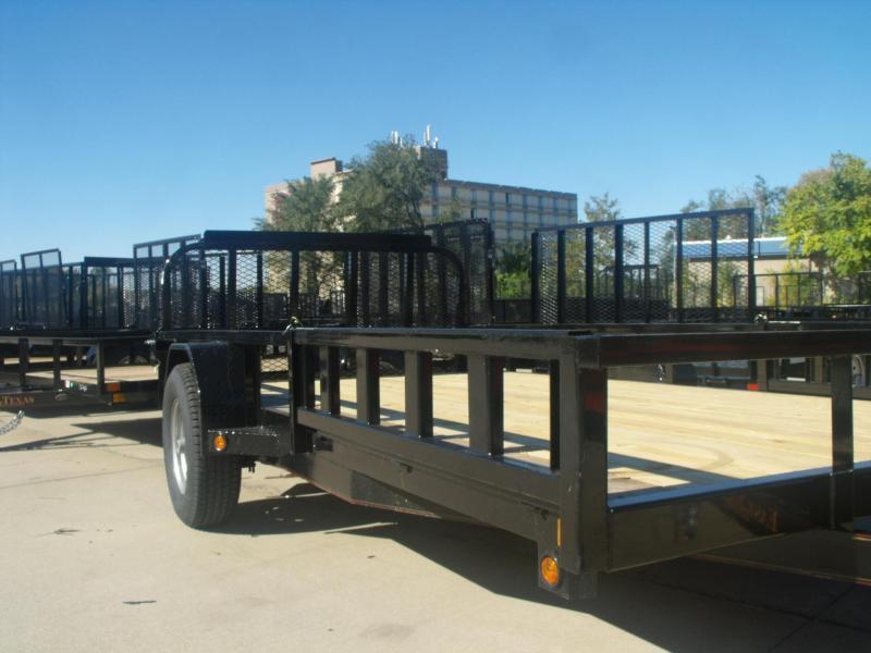ATV Trailer 83 X 14 Side Load Rear Load  5   # Axle Brakes