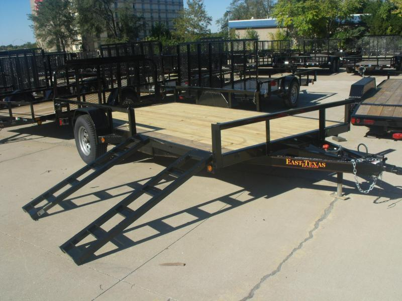 ATV Trailer 83 X 14 Side Load Rear Load  5   # Axle Brakes