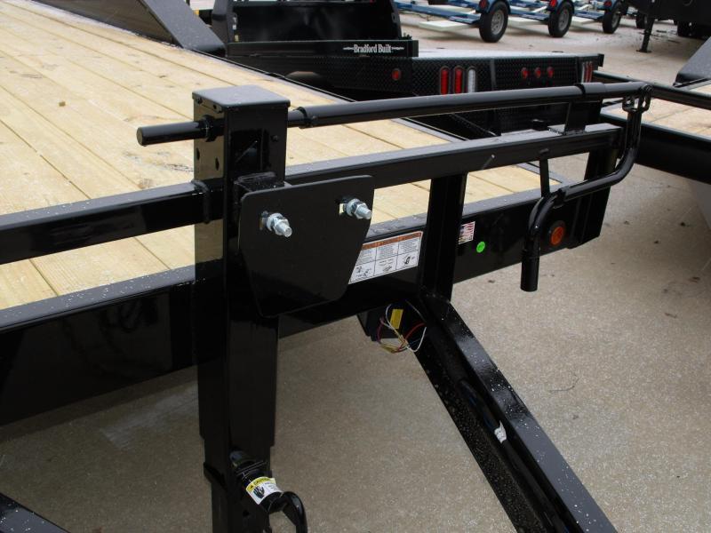 Equipment Trailer - Car Hauler 83 X 20  Metal Dove 14000 GVW
