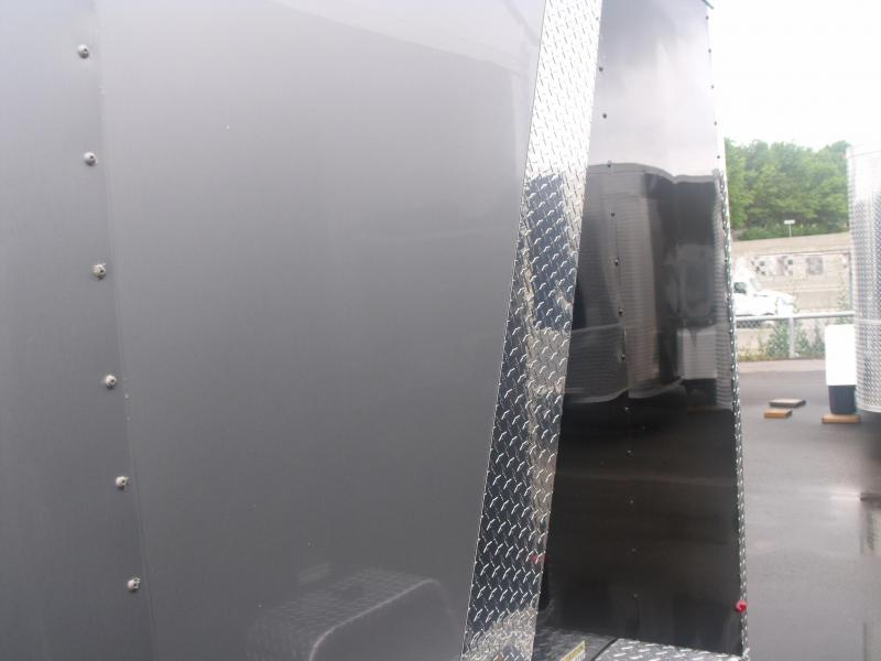 """Enclosed Cargo Trailer 7 X 10 Ramp 6' 3"""" All Tube Construction"""