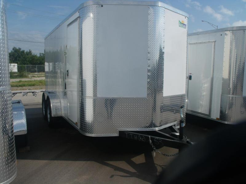 """Enclosed Trailer 7 X 14 BARN DOOR 7000 GVW 6' 6"""" Height"""