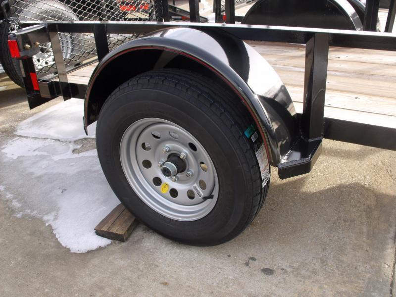 "Utility Trailer 4 X 8  Ramp 2990 Axle 15"" Radial Tires"