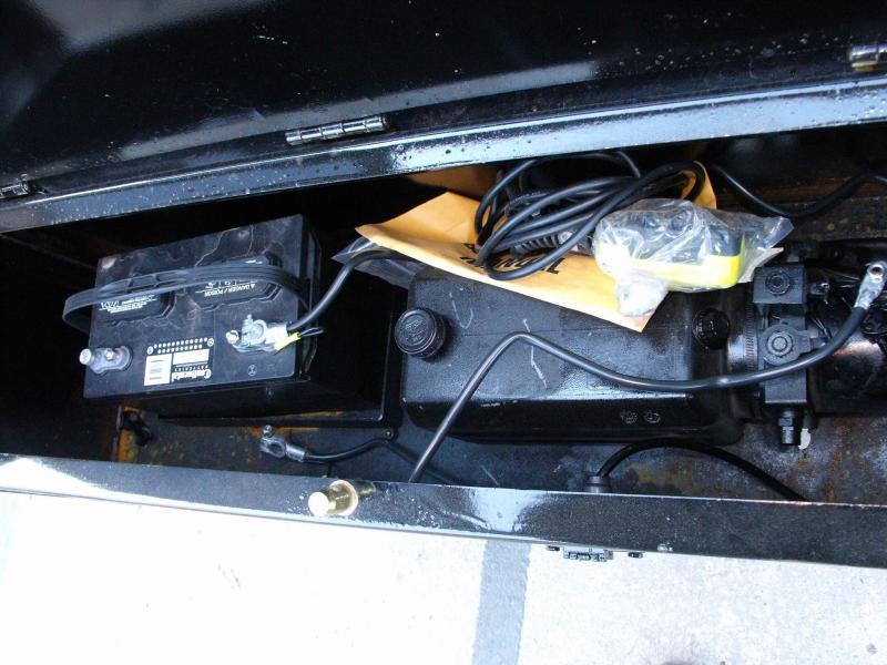 Gooseneck Dump 8 X 20 Combo Gate 26000 GVW 4' Hi Walls