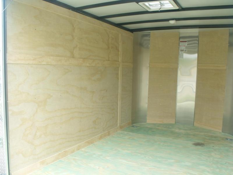 """Enclosed Trailer 7 X 10 Ramp 6' 3"""" Height    Motorcycle Trailer"""