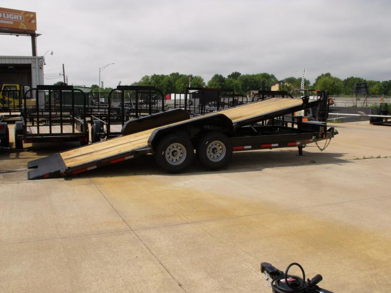 Tilt Trailer 83 X 20 Power Tilt 14000 GVW Torflex Axle Power Up & Power Down in Ashburn, VA