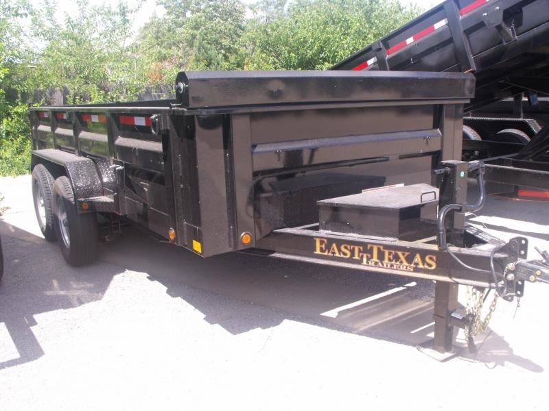 Dump Trailer LOW PRO  83 X 14   14000 GVW  Tarp Included