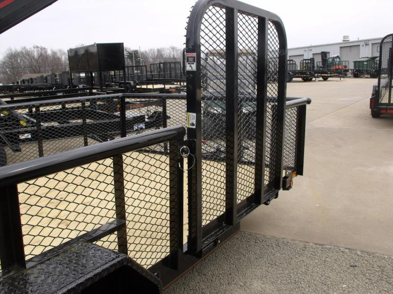 Hi Wall Landscape Trailer 83 X 16 Side Load Rear Load