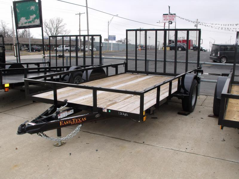 Utility Trailer 83 X 12 Gate  2990 Axle Radial Tires