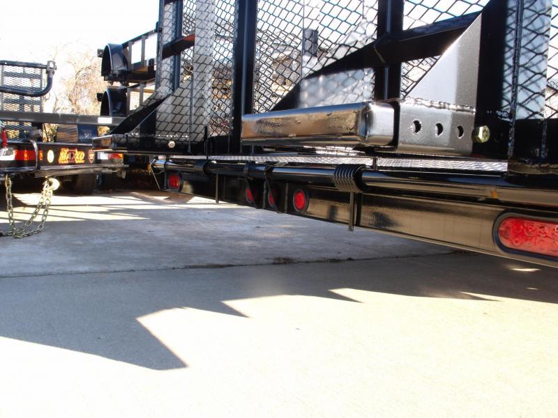 High-Wall Trailer   83 X 20 Dove HD Drop Foot Ramp 14000 GVW  MAXXD Landscape Trailer