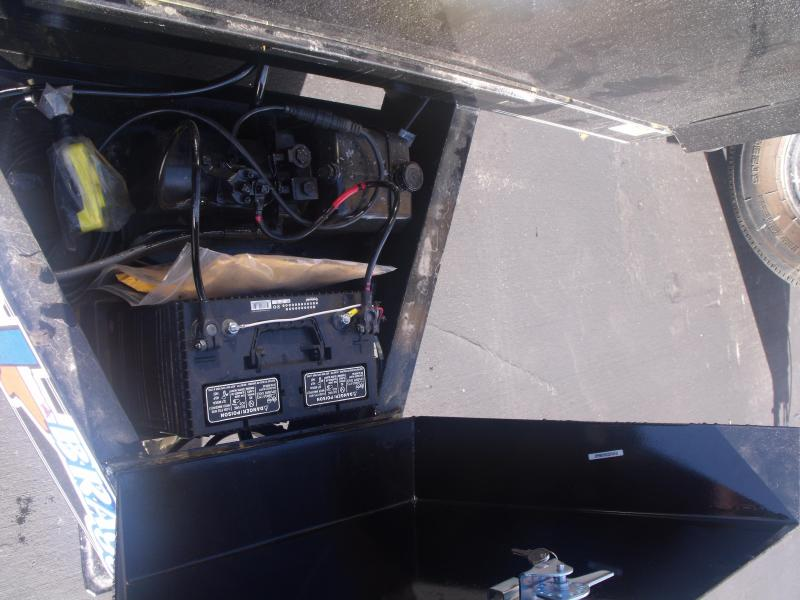 Dump Trailer 77 X 12 Combo Gate 12000 GVW