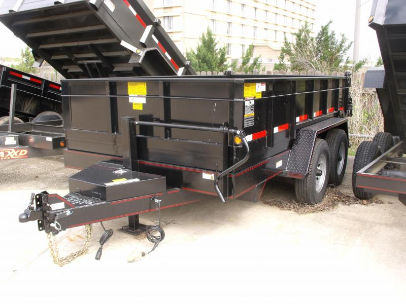 Dump Trailer 82 X 14 Spreader Gate 14000 GVW