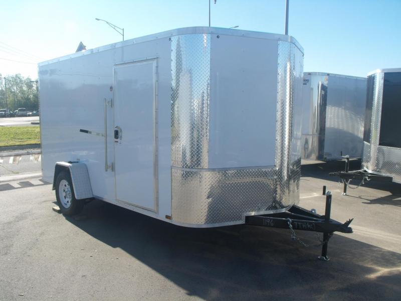 "Enclosed Trailer  7 X 12 Ramp  6' 3"" Interior ALL TUBE Construction"