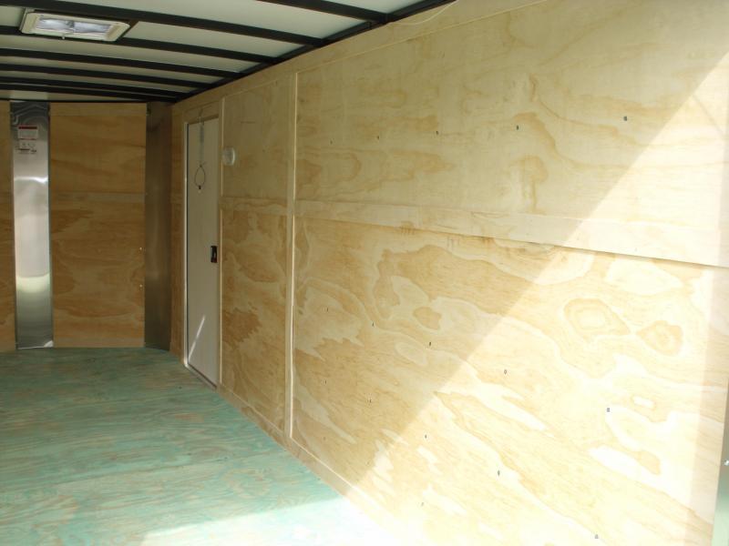 "Enclosed Trailer 7 X 16 Ramp Interior 6' 6""  ALL TUBE CONSTRUCTION  7000 GVW"