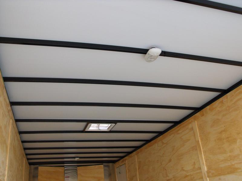 Enclosed Trailer 8.5 X 22 Ramp 14000 GVW 7' Height Razor Trailer ALL TUBE Construction