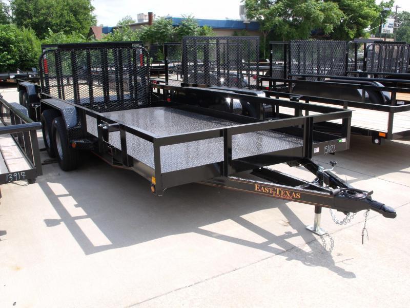 83 X 16 Dove Tail Metal Deck Utility Trailer    7000 GVW 4 WL Brakes Spring Assisted Tubular Gate  in Ashburn, VA