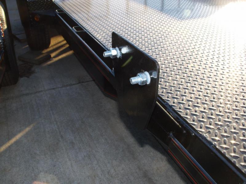 83 X 18 Metal Deck Car Hauler 7000 GVW 4 WL Brakes Ramps