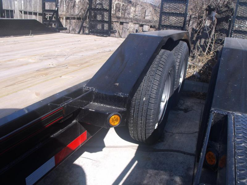 Equipment  Trailer 83 X 20 14K Drive Over Fenders Combo Ramps