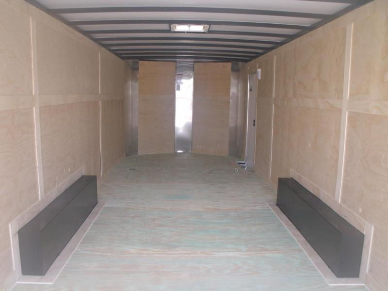 Enclosed Trailer 8.5 X 24 V Nose 9990 GVW All Tube Construction