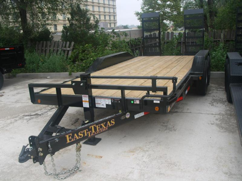 Equipment Trailer 83 X 18 14K Combo Ramps Drive Over Fenders