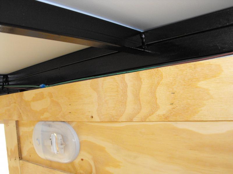 Enclosed Trailer 5 X 10 Ramp