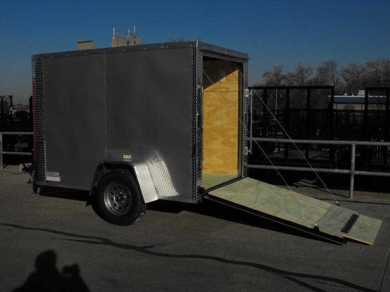 Enclosed Trailer 5 X 10 Ramp