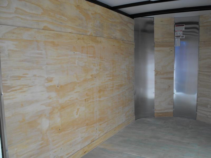 "Enclosed Trailer 5 X 8 Ramp 5' 6"" Interior ALL TUBULAR CONSTRUCTION"