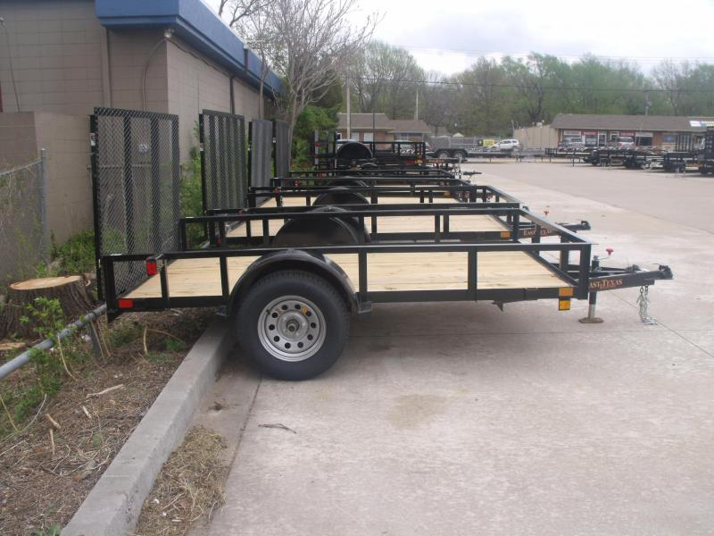 Mower Trailer 77 X 10 Ramp 2990 # Axle East Texas