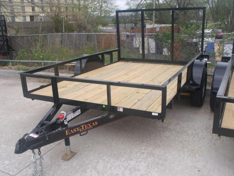 Mower Trailer 77 X 10 Ramp 2990 # Axle East Texas