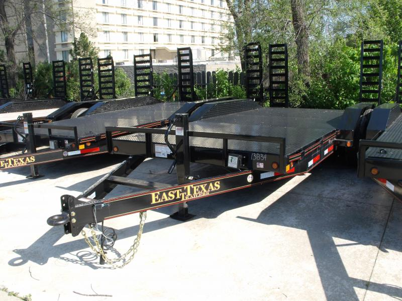 Equipment Trailer 83 X 18 Steel Deck