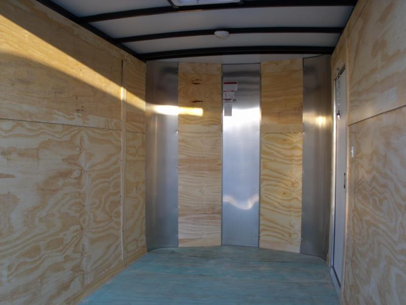 Enclosed Trailer 6 X 10 Ramp Silver White Two Tone ALL Tube Construction