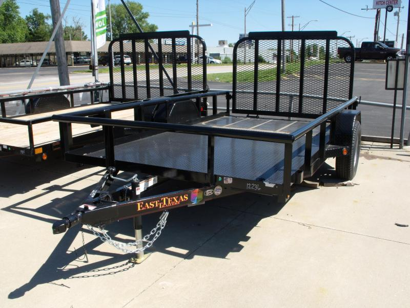 Utility Trailer Pipe Rail  77 X 12 ALL Metal Trailer  2990 # Axle Front Folding Ramp in Ashburn, VA