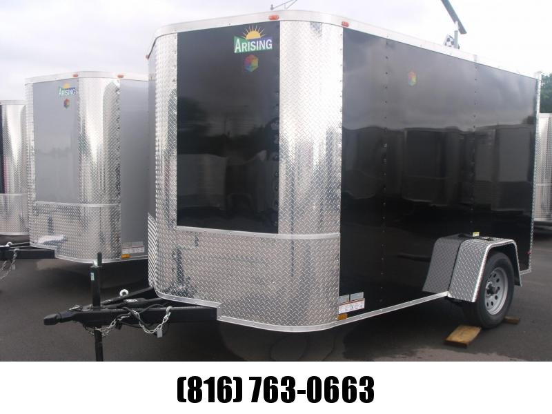 Enclosed Cargo Trailer 7 X 10 Ramp All Tube Construction