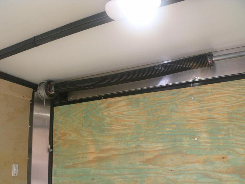 """Enclosed Trailer 7 X 14 Ramp (ALUMINUM COMPOSITE PANELS) Two Tone Color 7"""" Height"""