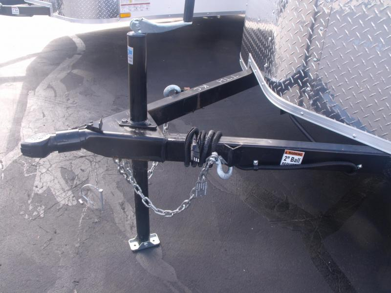 Enclosed Trailer 6 X 10 Ramp ALL Tube Construction Black In Color