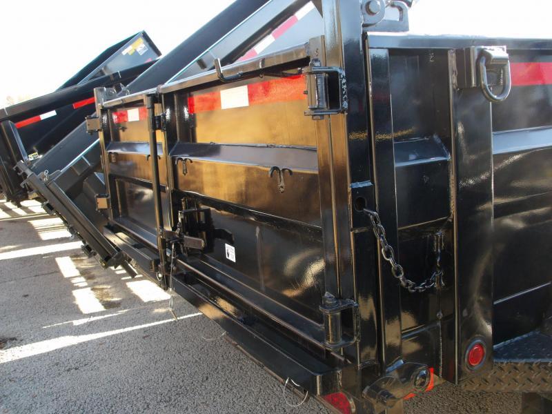 Dump Trailer 83 X 12 12000 GVW  Spreader Gate