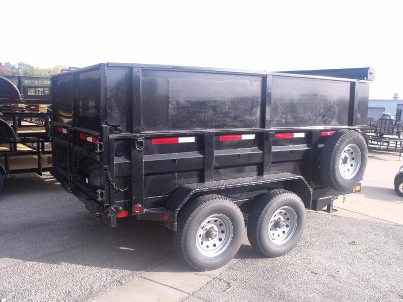 Dump Trailer 83 X 12 High Wall 4' Walls 12000 GVW