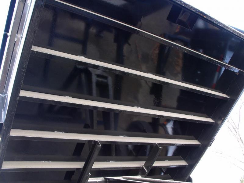 Gooseneck Dump Trailer 83 X 16 14000 GVW Spreader Gate
