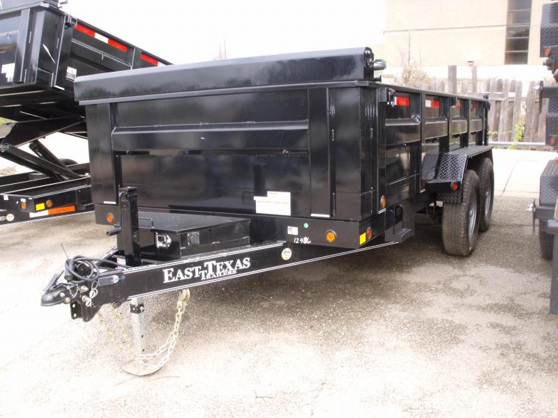 Dump Trailer 83 X 14 12K Tarp Ramps Power UP Power Down
