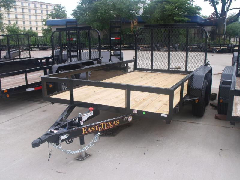 Equipment Trailer 77 X 12 Spring Assisted HD Gate in Ashburn, VA