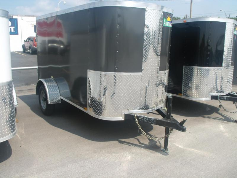 Enclosed Trailer 4 X 8 Moving Trailer Barn Door Need 2000 # Axle