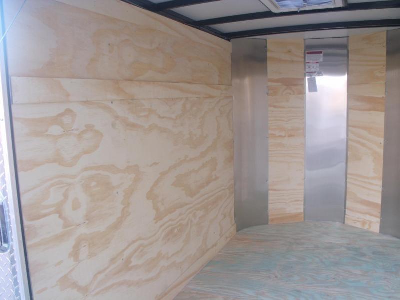 "Enclosed Trailer 5 X 8 Ramp 5' 6"" Interior All Tube Construction"