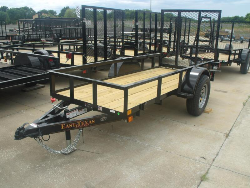 Utility Trailer  4 X 10   Ramp   Motorcycle Trailer